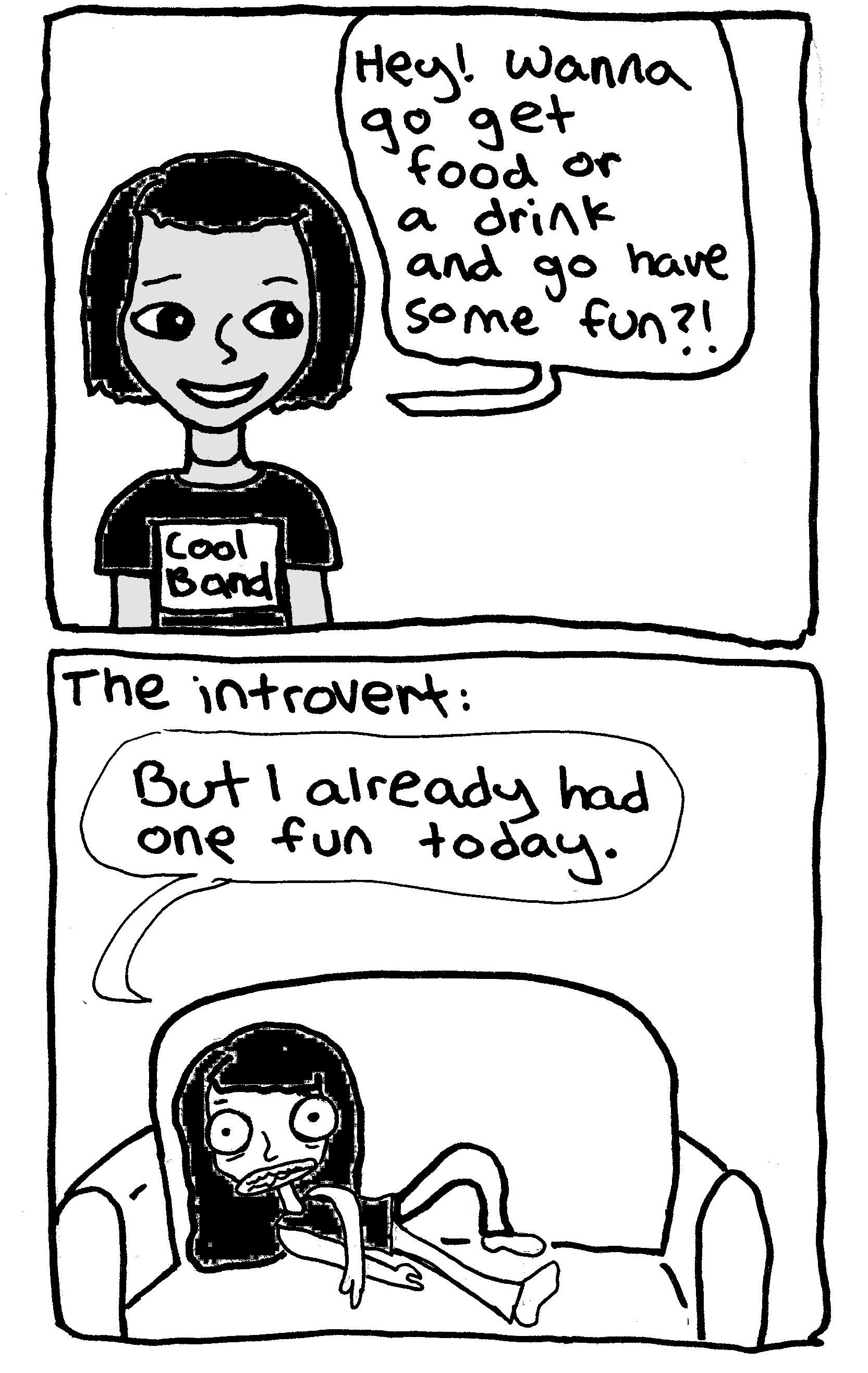 introvert too much fun