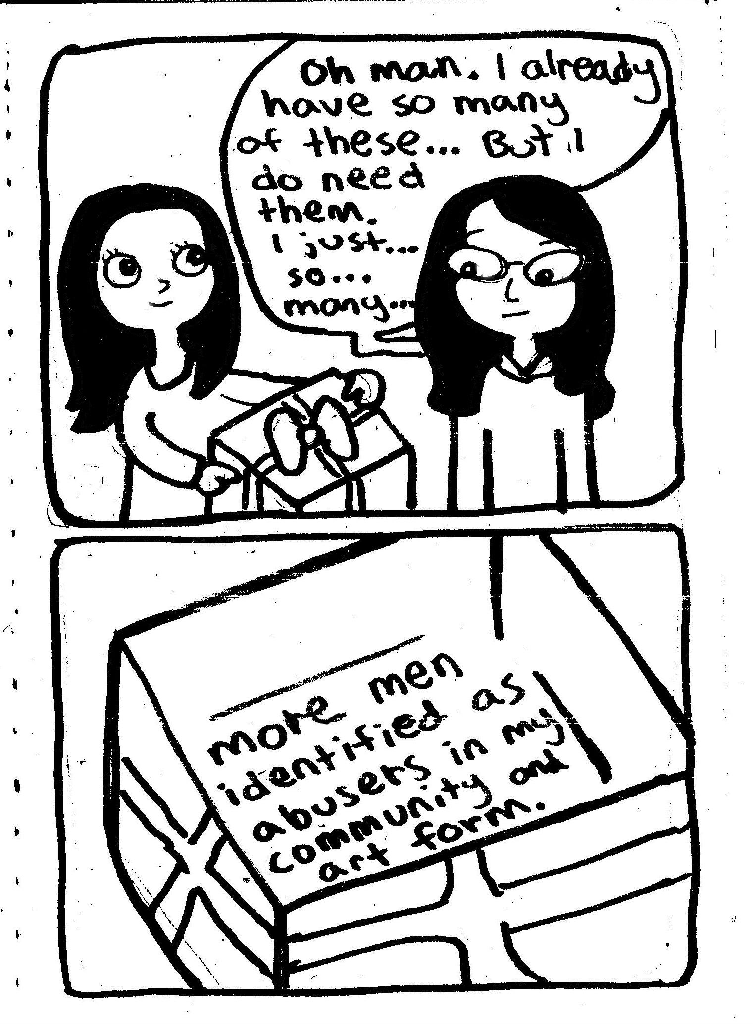 too many presents